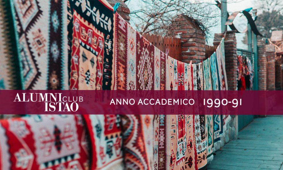 Alumni ISTAO nell'anno accademico 1990-91