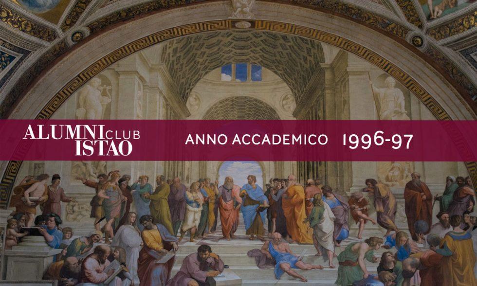 Alumni ISTAO nell'anno accademico 1996-97