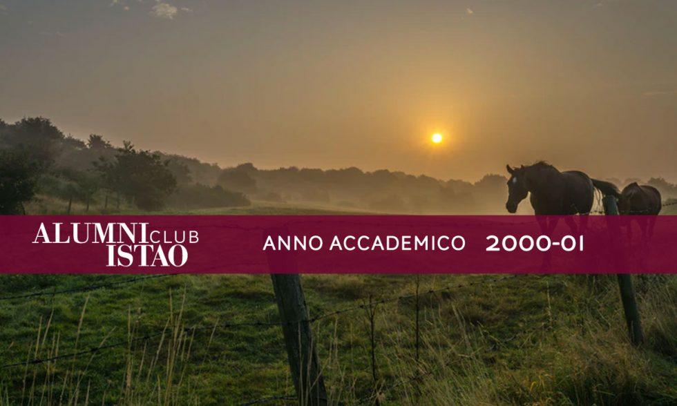 Alumni ISTAO nell'anno accademico 2000-01
