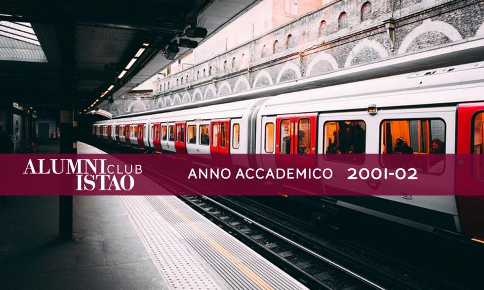 Alumni ISTAO nell'anno accademico 2001-02