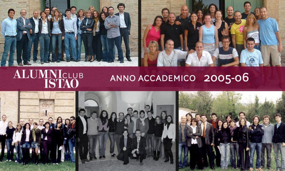 Alumni ISTAO nell'anno accademico 2005-06