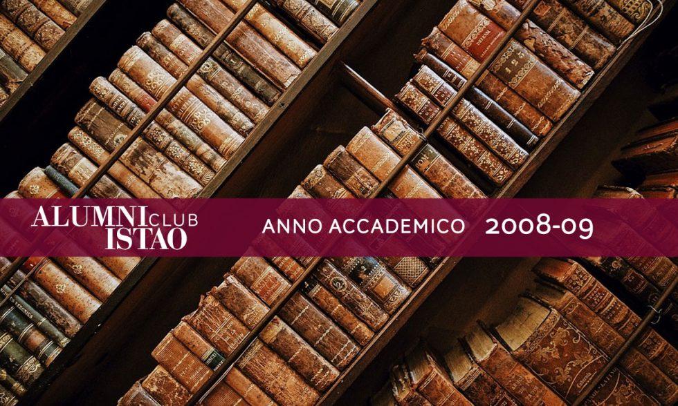 Alumni ISTAO nell'anno accademico 2008-09