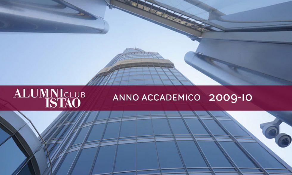 Alumni ISTAO nell'anno accademico 2009-10
