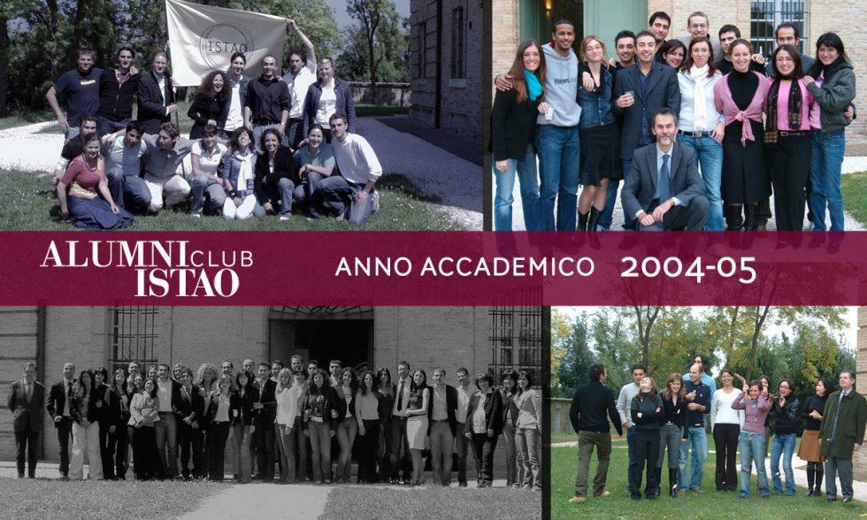 Alumni ISTAO nell'anno accademico 2004-05