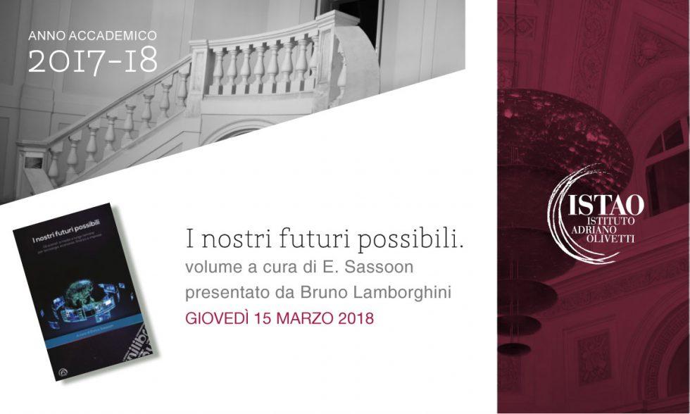 """Presentazione del libro """"I nostri futuri possibili"""""""