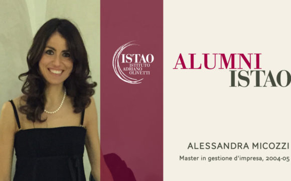 Alessandra Micozzi, ex-allieva Istao con il pallino delle Start-up