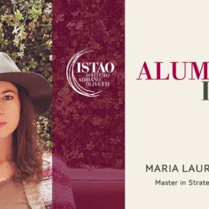 Maria Laura Ramello racconta il suo Master all'ISTAO