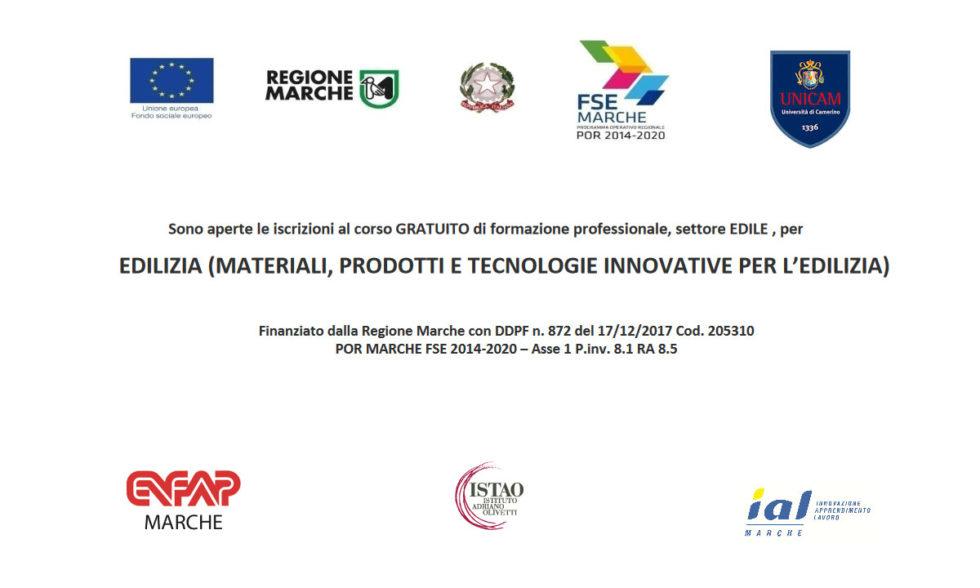 Corso Edilizia (materiali, prodotti e tecnologie innovative per l'edilizia)