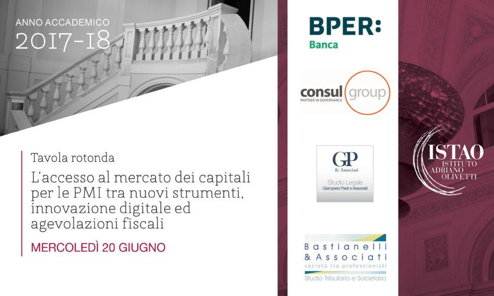 L'accesso al mercato dei capitali per le PMI tra nuovi strumenti, innovazione digitale ed agevolazioni fiscali