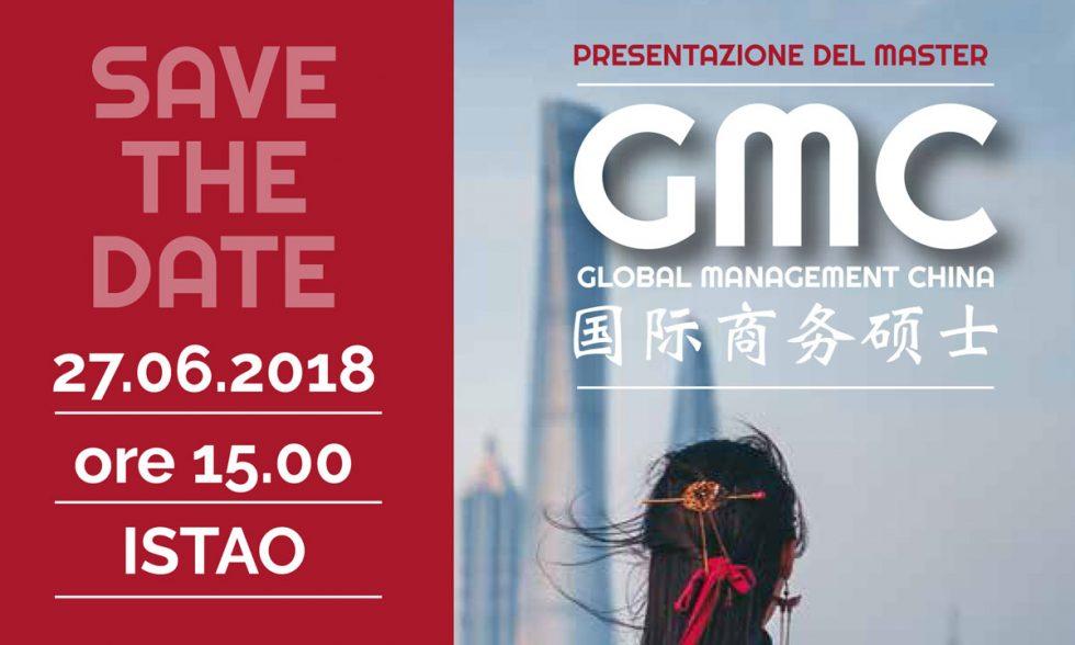 Presentazione del Master GMC