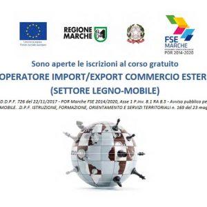 Operatore Import-Export Commercio estero