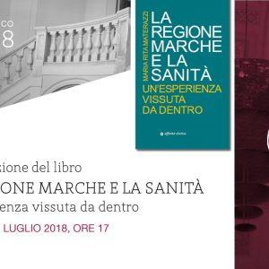 """Presentazione del libro """"La Regione Marche e la Sanità"""""""