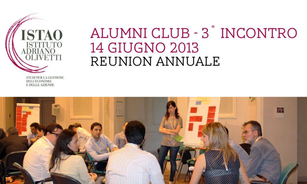 Reunion Annuale Alumni 2013