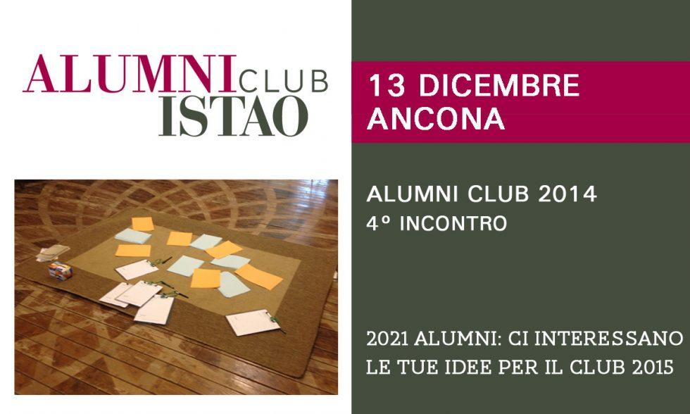 2021 Alumni: Ci interessano le tue idee per il Club 2015