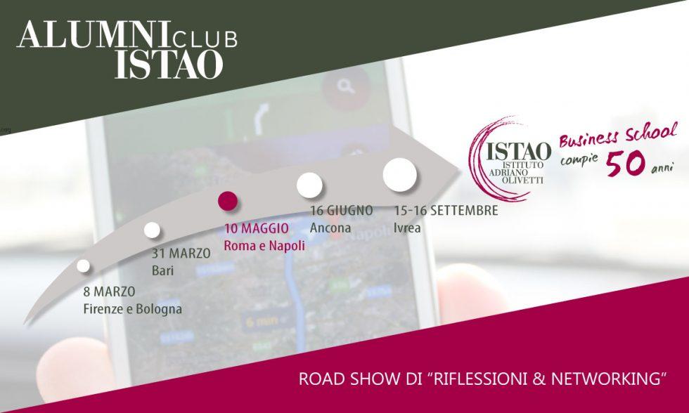La terza tappa del Road show a Roma e Napoli