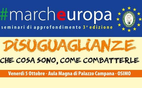 #Marcheuropa – venerdì 5 ottobre