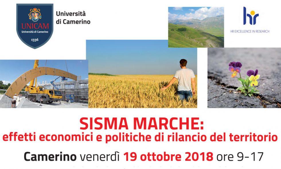 Sisma Marche: effetti economici e politiche di rilancio del territorio