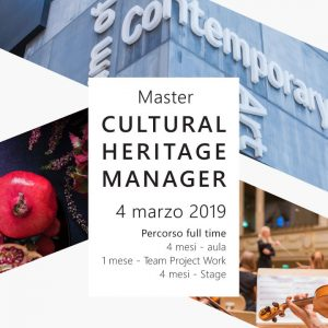 "Master ""Cultural Heritage Manager"""