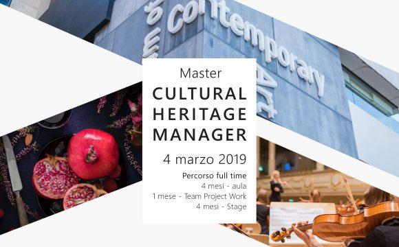 "Master ""Cultural Heritage Manager"""
