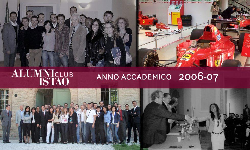 Alumni ISTAO nell'anno accademico 2006-07