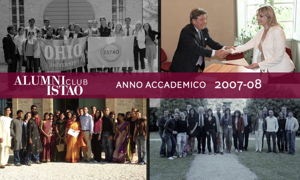Alumni ISTAO nell'anno accademico 2007-08