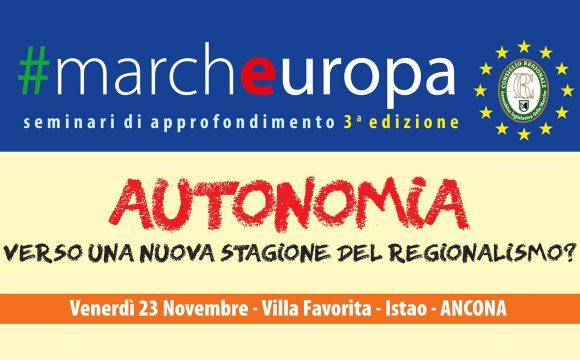 #Marcheuropa – venerdì 23 novembre