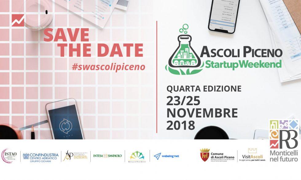 Startup Weekend Ascoli Piceno – Quarta edizione