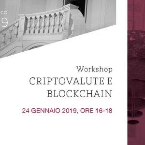 """Workshop """"Criptovalute e blockchain"""""""
