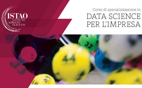 """Corso di specializzazione """"Data Science per l'Impresa"""""""