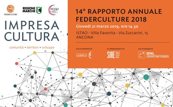 14° Rapporto Annuale Federculture 2018