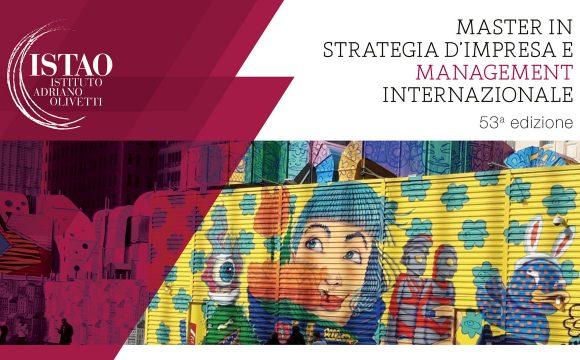 Master in Strategia d'impresa e management internazionale, 53a edizione