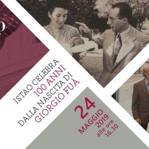 ISTAO celebra 100 anni dalla nascita di Giorgio Fuà