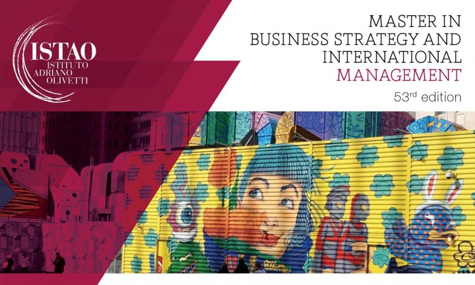 Master in Business Strategy and International Management, 53rd edition