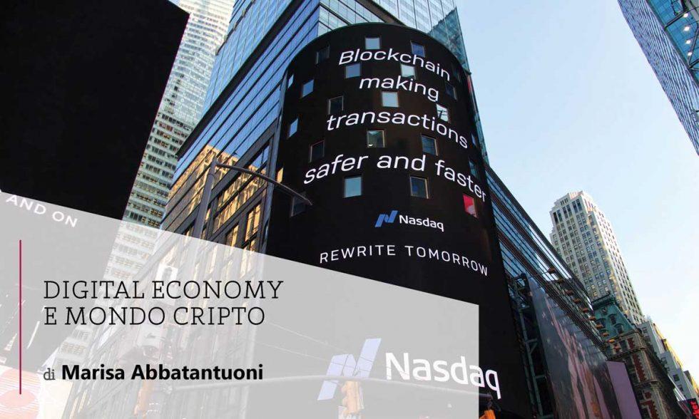 Digital Economy e mondo cripto