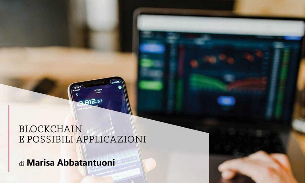 Blockchain e possibili applicazioni