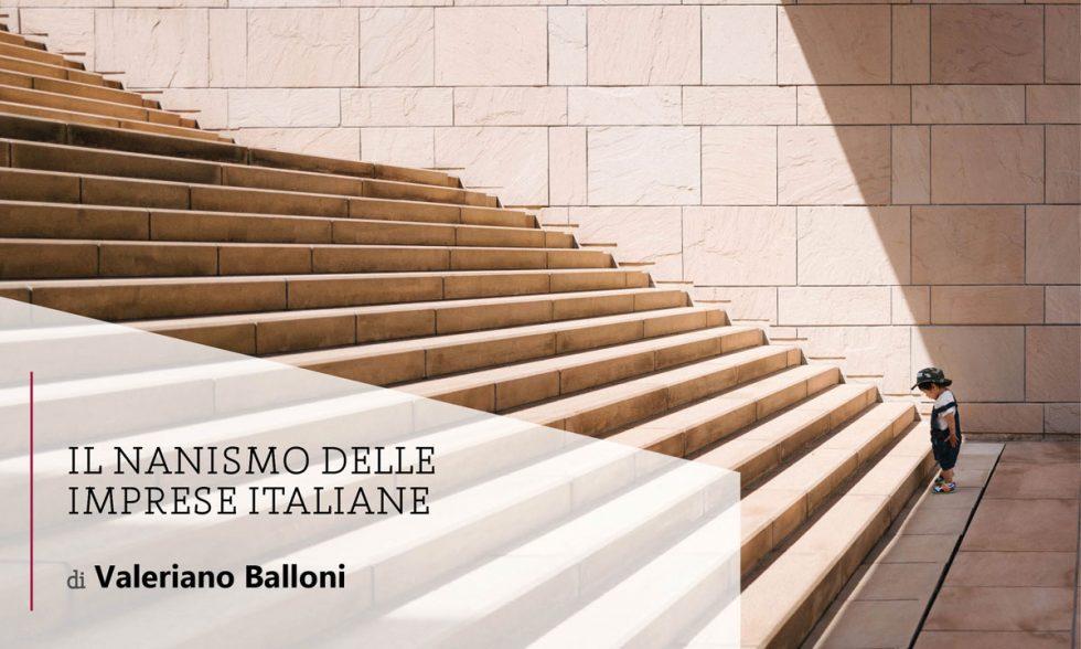 Il nanismo delle imprese italiane