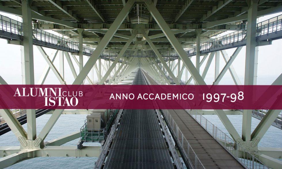 Alumni ISTAO nell'anno accademico 1997-98