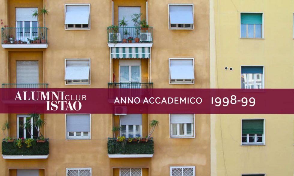 Alumni ISTAO nell'anno accademico 1998-99