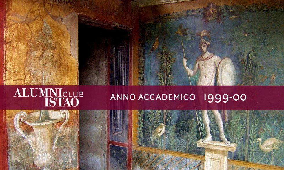 Alumni ISTAO nell'anno accademico 1999-00