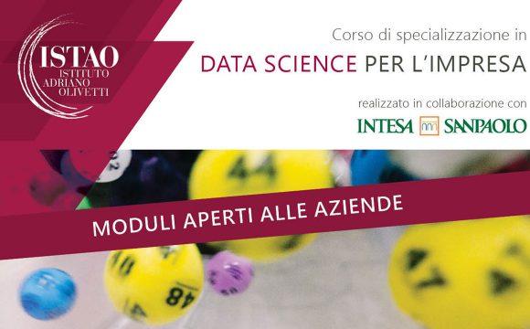 Data Science per l'impresa – Moduli aperti alle aziende