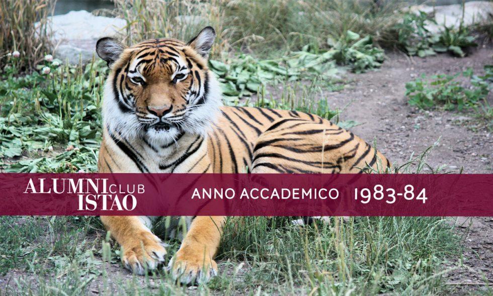 Alumni ISTAO nell'anno accademico 1983-84