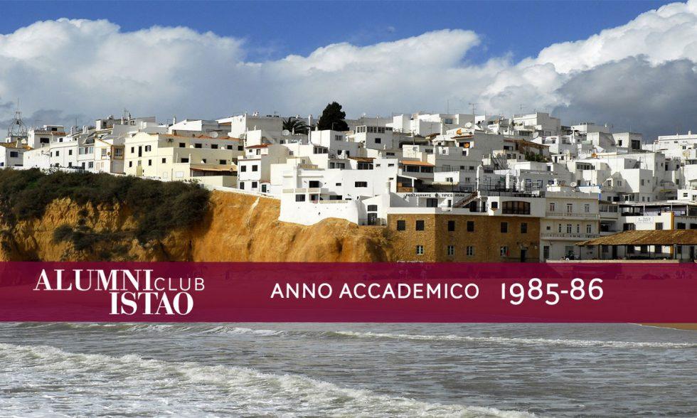 Alumni ISTAO nell'anno accademico 1985-86