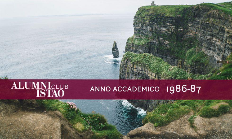 Alumni ISTAO nell'anno accademico 1986-87