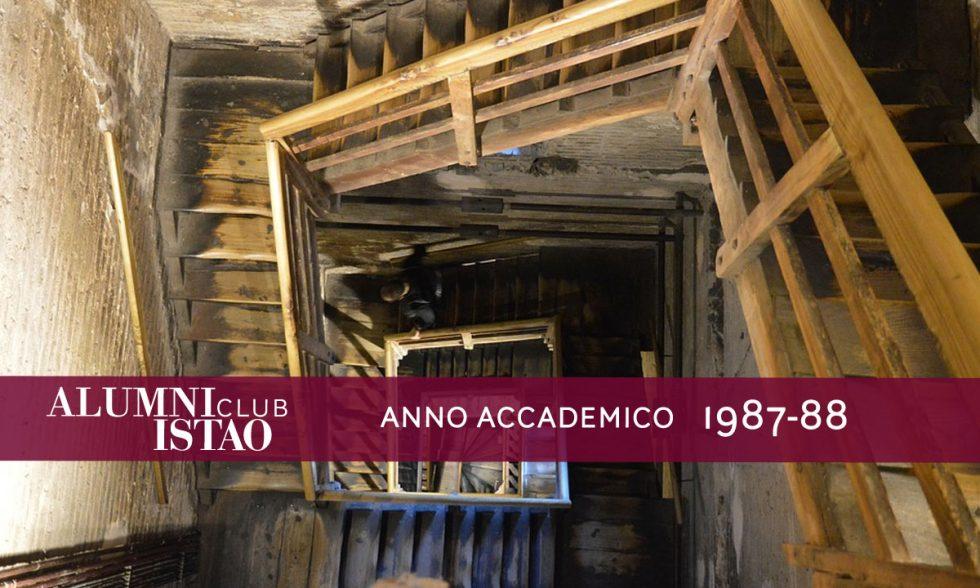 Alumni ISTAO nell'anno accademico 1987-88