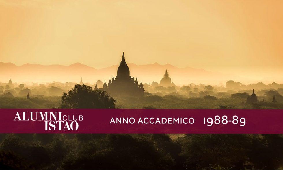 Alumni ISTAO nell'anno accademico 1988-89