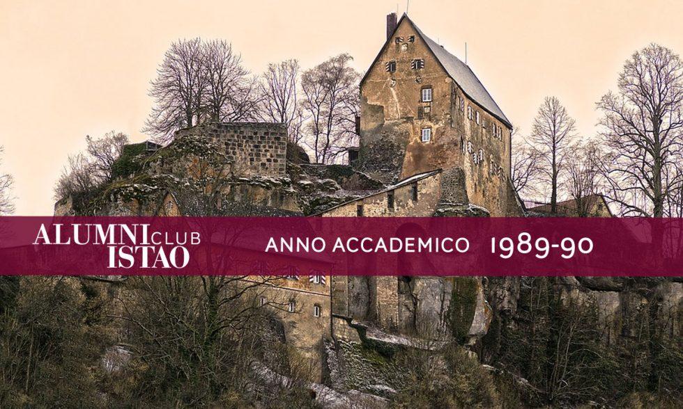 Alumni ISTAO nell'anno accademico 1989-90