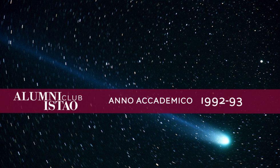 Alumni ISTAO nell'anno accademico 1992-93