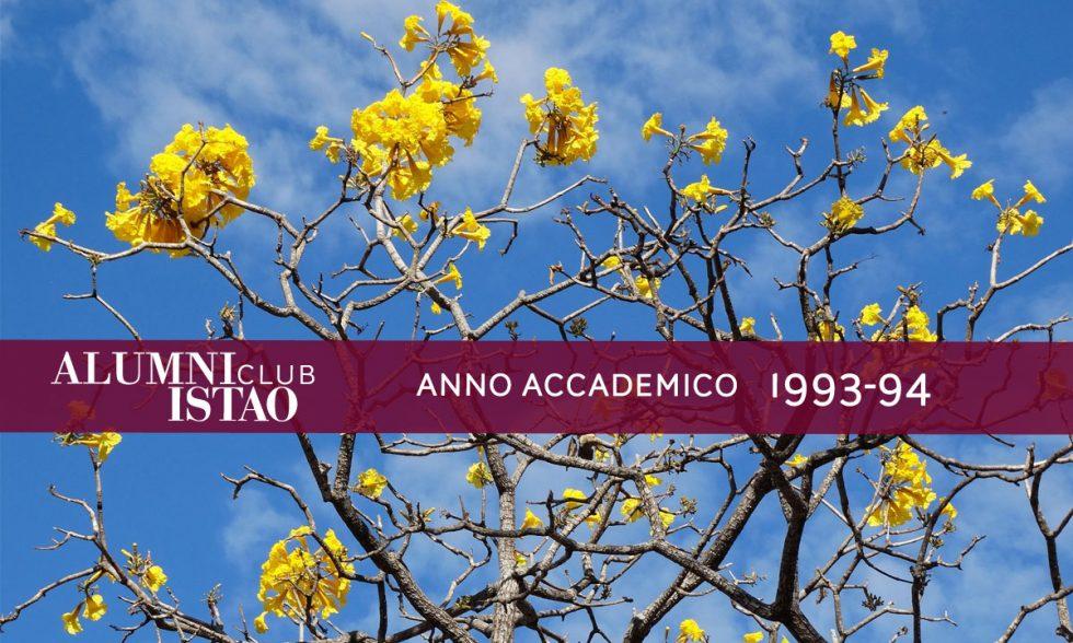 Alumni ISTAO nell'anno accademico 1993-94