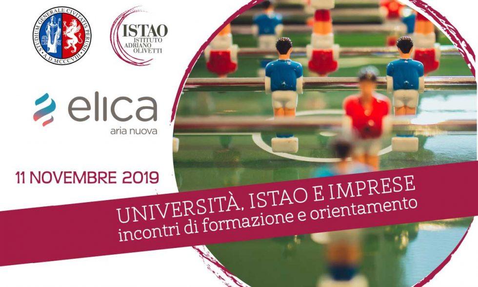 Università, Istao e Imprese – 11 novembre 2019