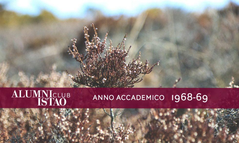 Alumni ISTAO nell'anno accademico 1968-69